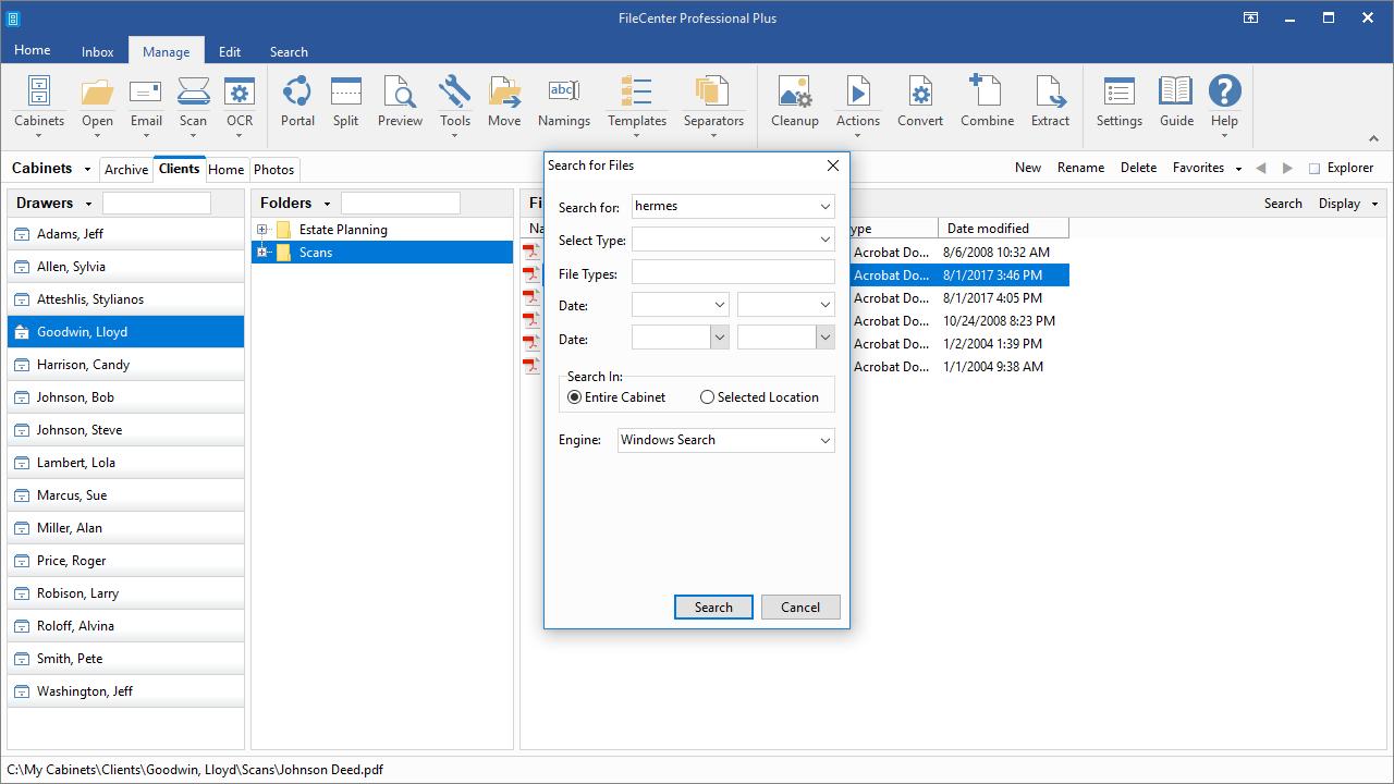filecenter-screen-search-quick